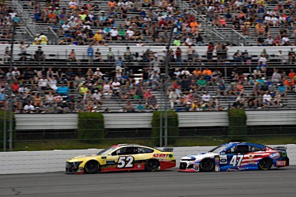 #52: Austin Theriault, Rick Ware Racing, Chevrolet Camaro TRICK SHOT / BANGOR SAVINGS BANK, #47: Ryan Preece, JTG Daugherty Racing, Chevrolet Camaro Kroger