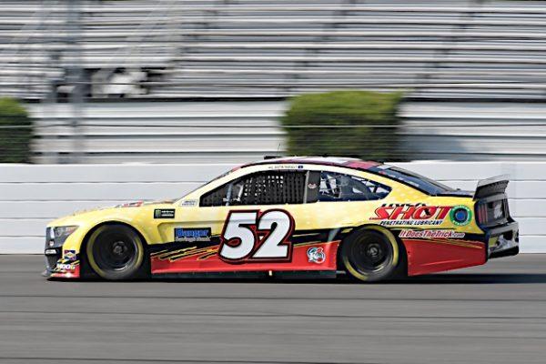 #52: Austin Theriault, Rick Ware Racing, Chevrolet Camaro TRICK SHOT / BANGOR SAVINGS BANK
